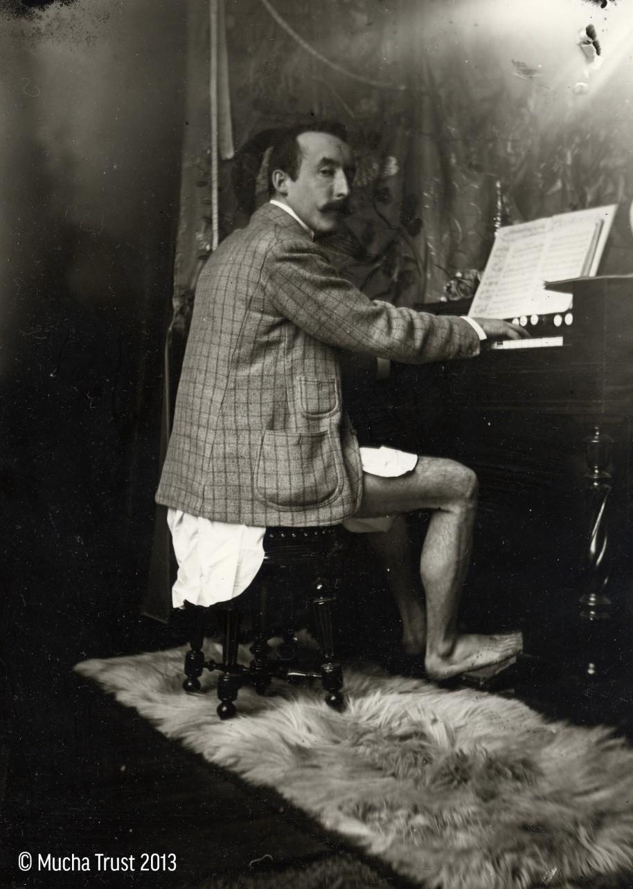 pianist met auteur in